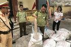 Lòng non thối, nầm lợn bốc mùi từ Trung Quốc tuồn về Việt Nam