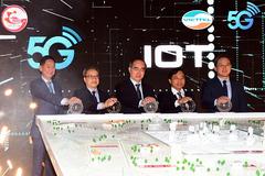 Sóng 5G chính thức được thử nghiệm tại TP.HCM