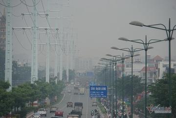 Sương mù ở Sài Gòn có thể do ô nhiễm không khí nặng