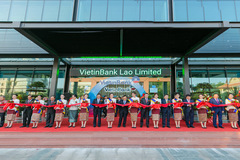 VietinBank cam kết đầu tư lâu dài tại Lào
