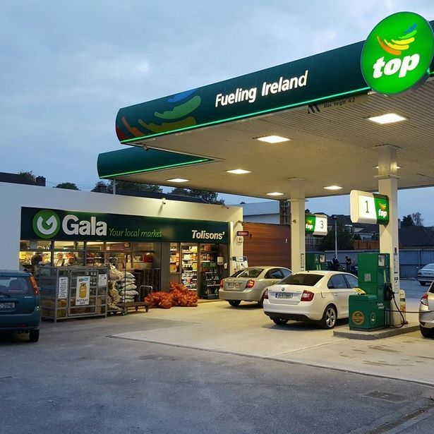 Ireland,trạm xăng,cửa hàng,bí ẩn,kỳ bí