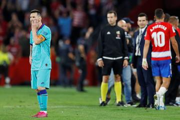 Messi bất lực, Barca thua bạc nhược Granada