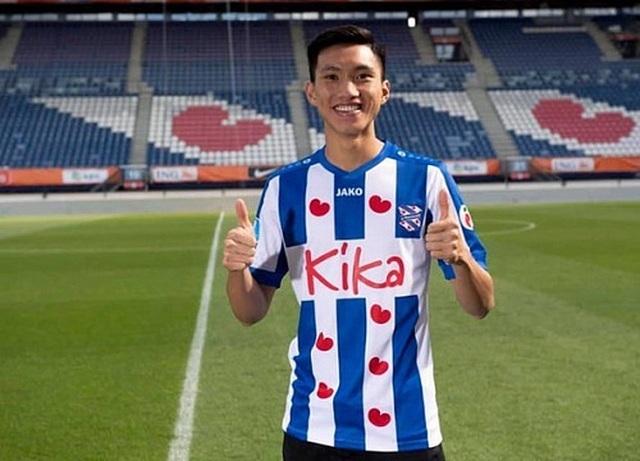 Văn Hậu,shine with SC Heerenveen