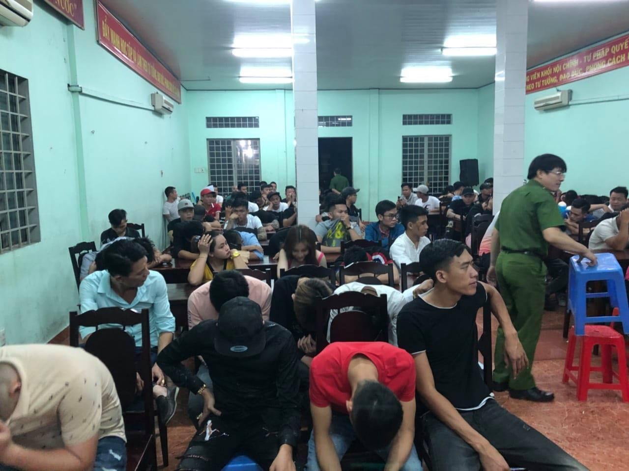 145 người dương tính ma túy trong khách sạn 5 sao ở Đồng Nai