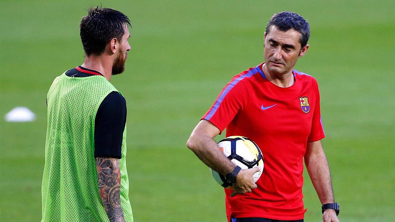 Barca,Lionel Messi,Messi,Xavi,Ernesto Valverde