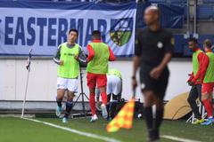 Văn Hậu ra sân, thử sức với Feyernood Rotterdam