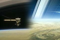 Phút cuối của vệ tinh Cassini trước khi đâm vào sao Thổ 'tự sát'