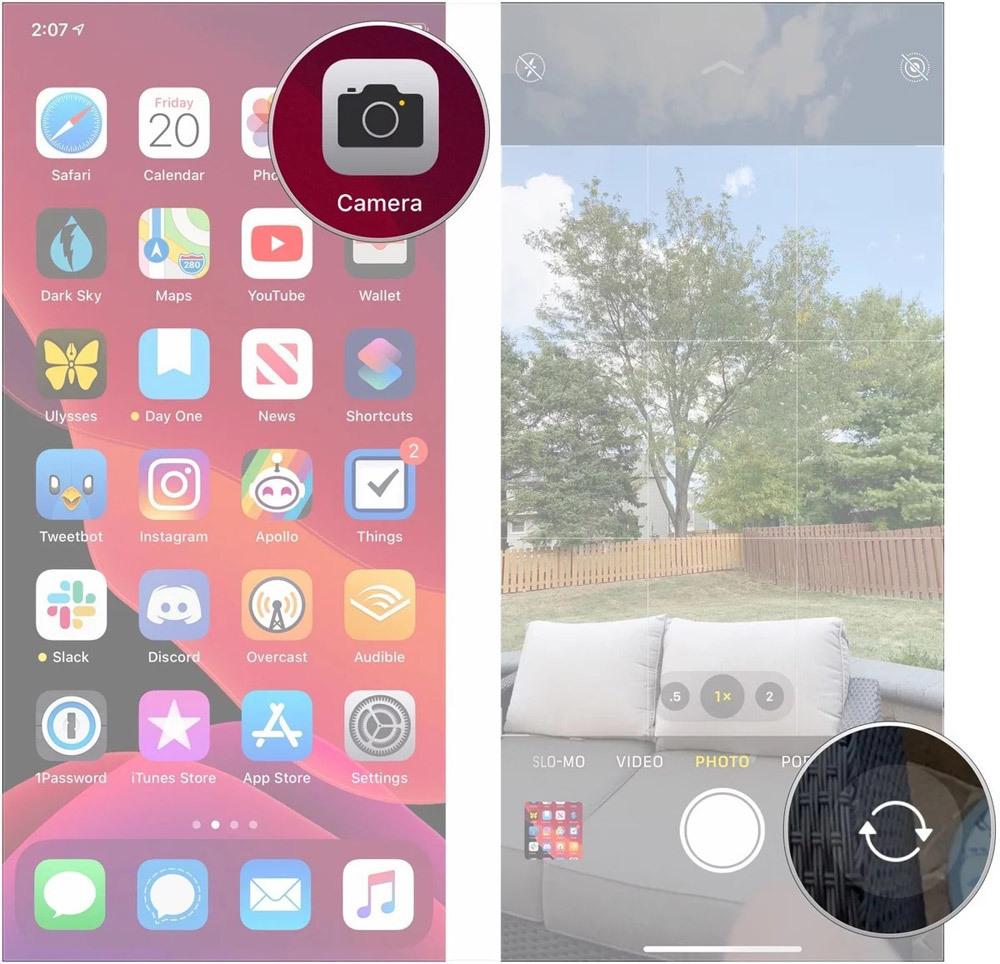 Cách quay video selfie chuyển động chậm trên iPhone 11, 11 Pro, 11 Pro Max