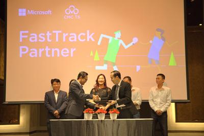 Microsoft 'bắt tay' CMC TS cung cấp các dịch vụ điện toán đám mây