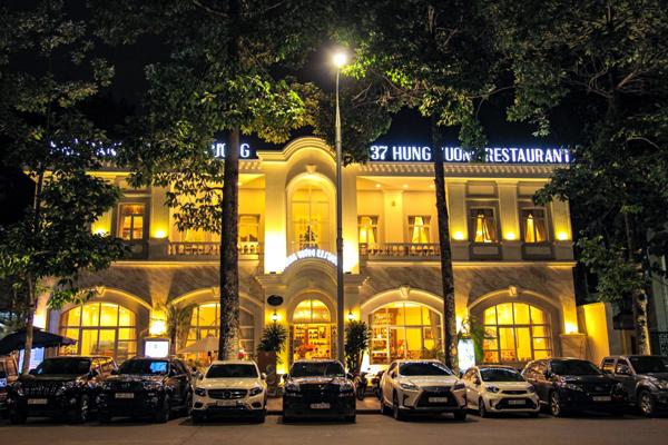 Nhà hàng 37A Hùng Vương - không gian sang trọng bậc nhất Hà thành