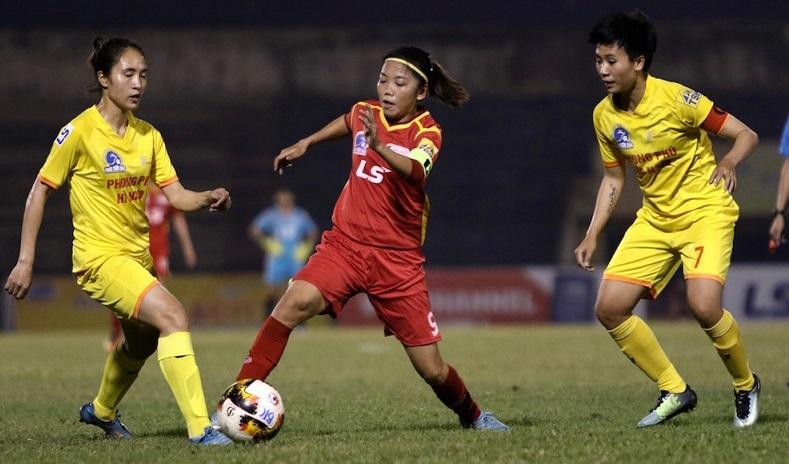 Nữ Hà Nam cưa điểm TP.HCM I, Thái Nguyên thắng đậm