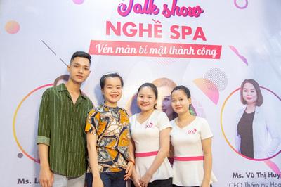 Giới trẻ hào hứng tham gia talk show chia sẻ bí mật thành công nghề spa