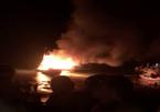 Tàu cá Thanh Hóa phát nổ, 2 người chết, 1 mất tích