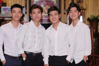 4 anh em Nghệ An và các gia đình nhiều thành viên nổi tiếng trên mạng