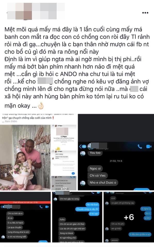 Mẫu Việt bức xúc tố hotgirl gạ tình chồng Tây