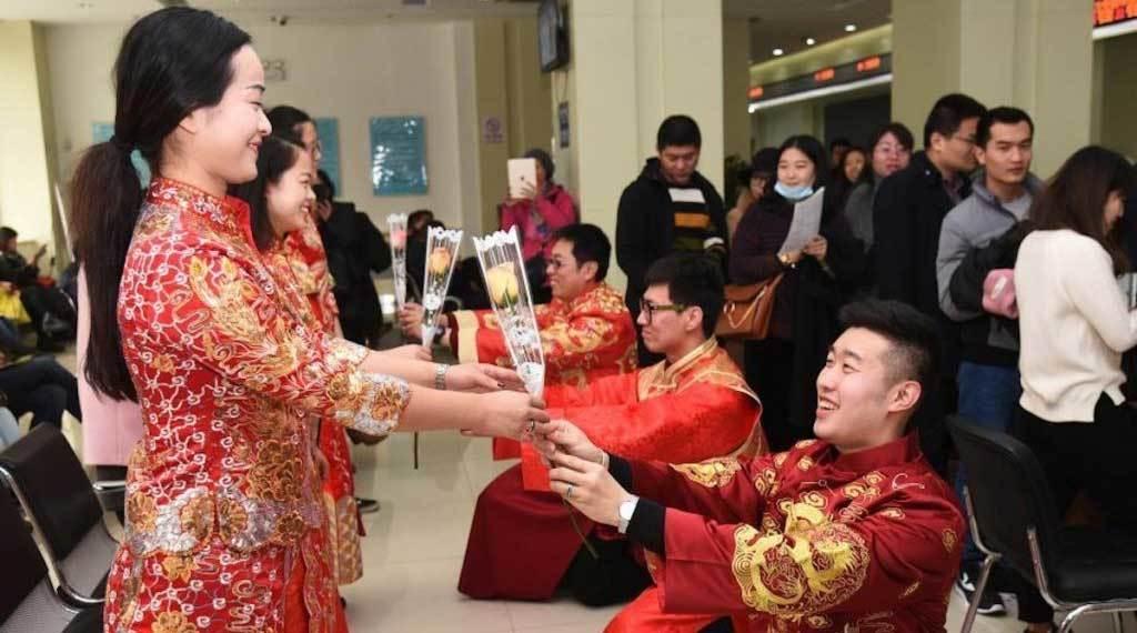 trai trẻ,kỷ lục thế giới,Trung Quốc,chuyện hôn nhân