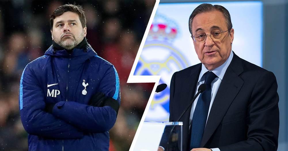 Real Madrid,Pochettino,Florentino Perez