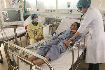 Bác sĩ cứu sống 2 người bị bệnh tim rất nặng