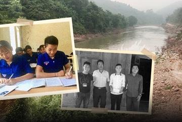 Khoảnh khắc sinh tử lao vào dòng lũ xiết cứu người của nam sinh Nghệ An