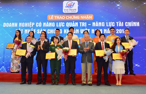 Sanvinest Yến sào Khánh Hòa vào top doanh nghiệp có năng lực quản trị tốt nhất