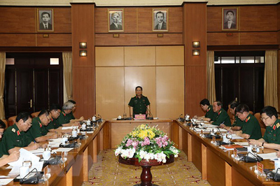 Hội nghị Tiểu ban văn kiện, nhân sự chuẩn bị Đại hội Đảng bộ Quân đội