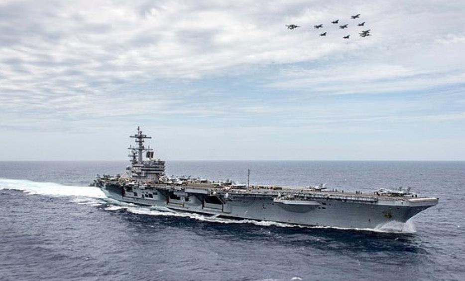 'Điềm xấu' ám tàu sân bay Mỹ