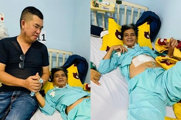 Nghệ sĩ Mai Trần hồi phục sau ca phẫu thuật 8 tiếng