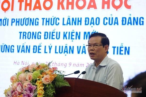 Ông Triệu Tài Vinh: Phải vượt qua tin đồn về cả nhà làm quan, nâng điểm thi
