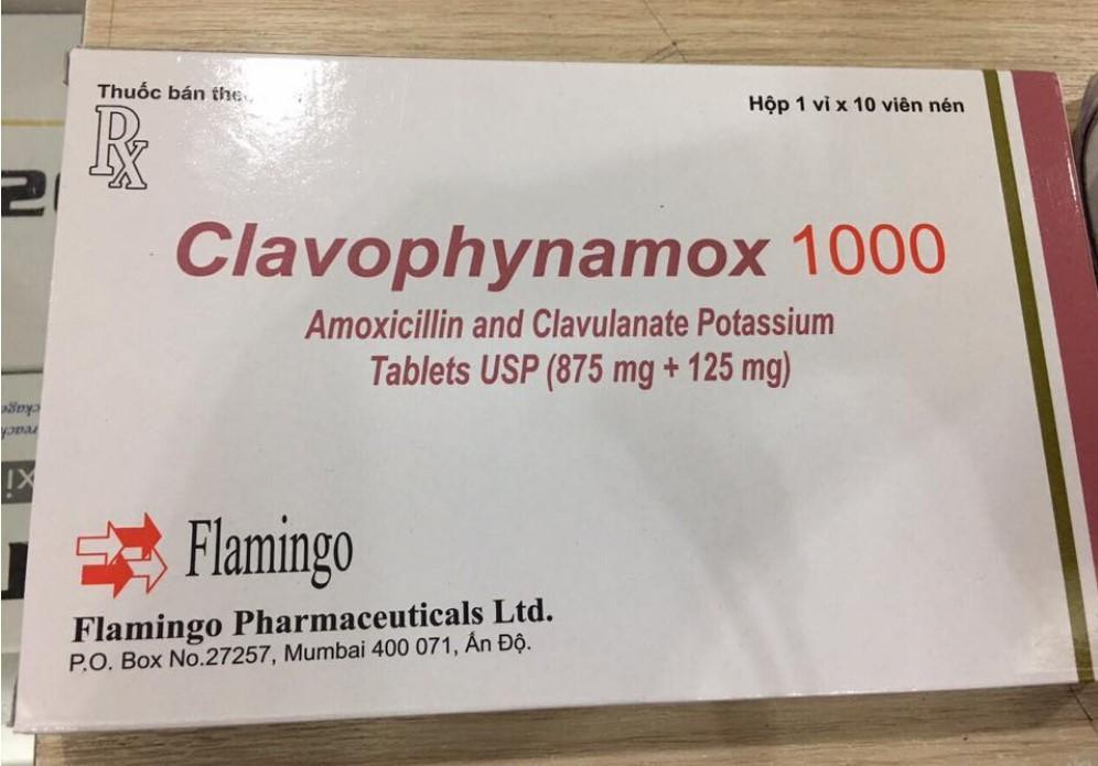Thu hồi toàn quốc lô thuốc Clavophynamox 1000