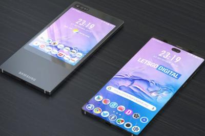 """Xuất hiện mẫu smartphone màn hình kép """"lạ"""" của Samsung"""