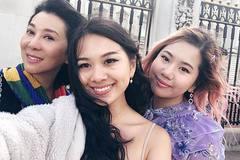Hai cô con gái xinh đẹp giỏi giang kín tiếng của MC Kỳ Duyên