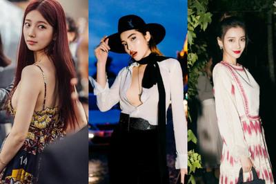 Kỳ Duyên hở bạo, mỹ nhân Hàn, Hoa kín đáo tại Paris Fashion Week 2019