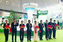 Vinamilk đại diện sữa Việt 'chào sân' ấn tượng thị trường Trung Quốc