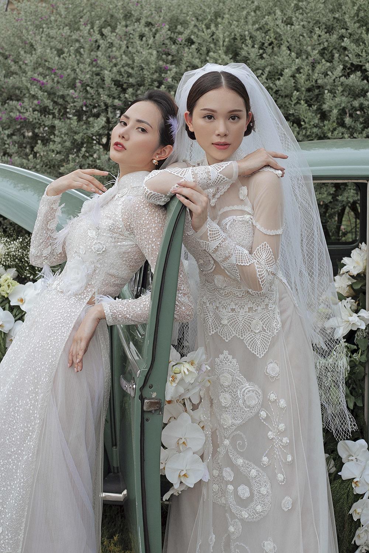 Vừa công khai yêu em chồng Hà Tăng, Linh Rin bất ngờ chụp ảnh áo cưới