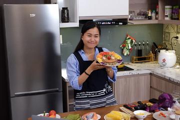 Lâm Vỹ Dạ tiết lộ bí quyết đảm bảo dinh dưỡng cho con