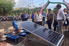 Mekong Delta shrimp farmers take baby steps towards renewable energy