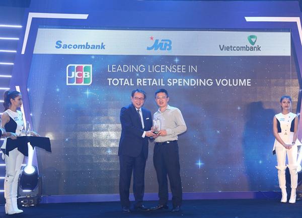 MBBank nhận 4 giải thưởng của tổ chức thẻ quốc tế Nhật Bản JCB
