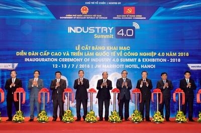 Diễn đàn Cấp cao và Triển lãm Quốc tế về Công nghiệp 4.0