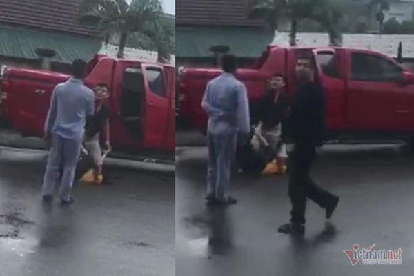 Cựu cán bộ công an Hà Tĩnh đấm đá, cầm kéo dọa đâm vợ cũ