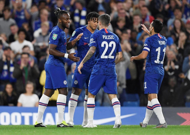 Chelsea đại thắng 7-1 ở cúp liên đoàn Anh