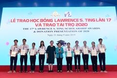 Học bổng Lawrence S. Ting gieo mầm thiện nguyện, chia sẻ cộng đồng