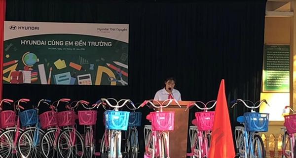 tặng xe đạp,chương trình,tặng xe đạp cho HS nghèo