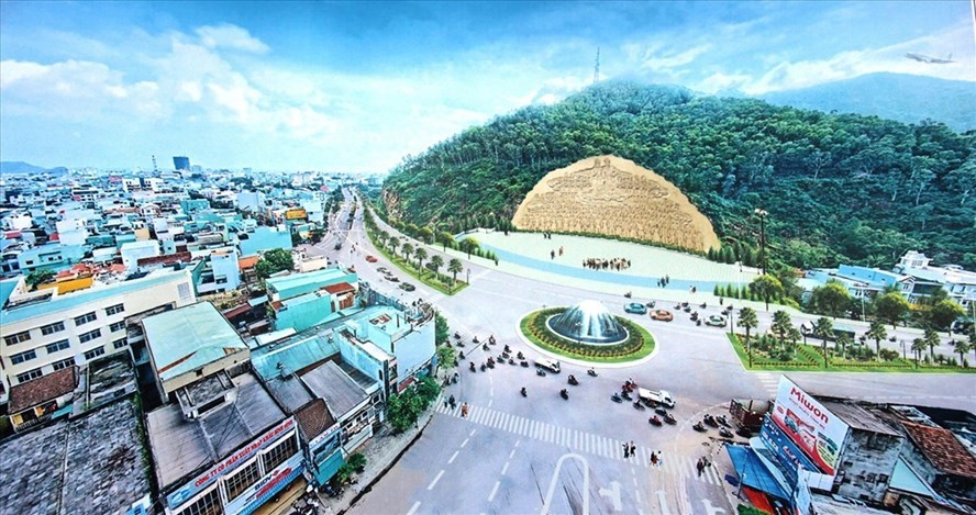 Binh Dinh halts giant sculptural relief on mountain