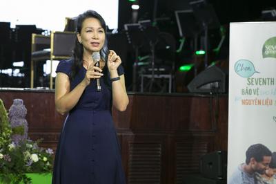 HLV sức khoẻ Trần Lan Hương chia sẻ về sống xanh trọn vẹn