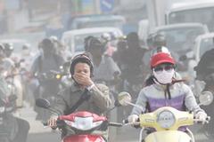 Bác thông tin Hà Nội là thành phố ô nhiễm nhất thế giới