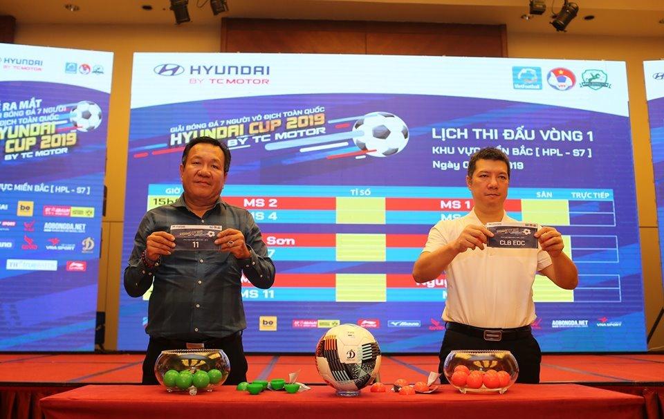 'Chạy đà' cho giải bóng đá 7 người toàn quốc