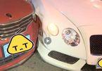Xe bình dân đâm móp đầu siêu xe Bentley, lại lo đền tiền tỷ
