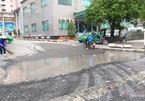 Tái lập mặt đường bầy hầy, công  ty điện lực Sài Gòn bị 'sờ gáy'