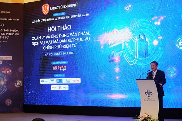 Mật mã dân sự giúp bảo vệ an toàn cho chính phủ điện tử tại Việt Nam
