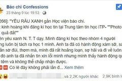 Chủ trung tâm tin họcbị tố sờ đùi, hôn má nữ sinh ở Hà Nội
